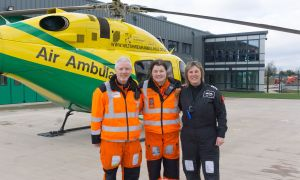 Wiltshire Air Ambulance Moves in to New Airbase