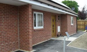 Two new single storey dwellings, East Knoyle, Wilts