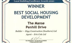 Awarded Best Social Housing Development