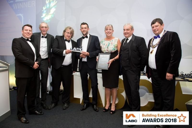 Success at the LABC West of England Building Excellence Awards 2018 article image